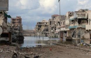 destrucción libia