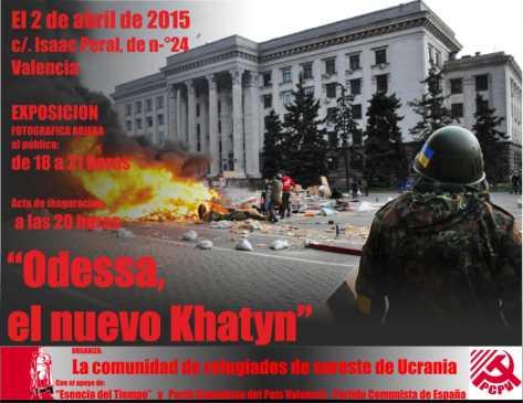 la tragedia de odessa exposicion valencia 2 de abril