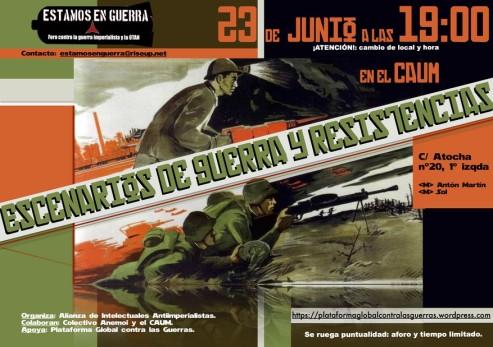 Cartel Junio Red