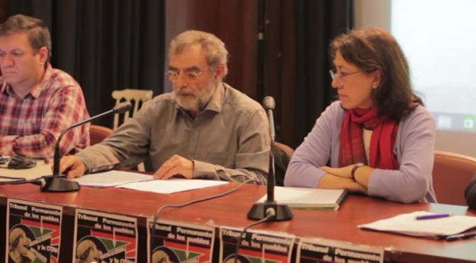 Reportaje TTPCGIO. Resolución del Tribunal contra las Guerras Imperialista