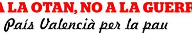 "Manifiesto de ""País Valencià per la Pau"""