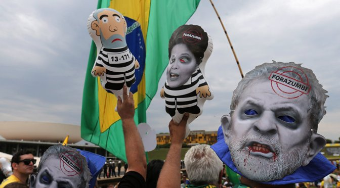 Inminente golpe contra Dilma y Lula en Brasil