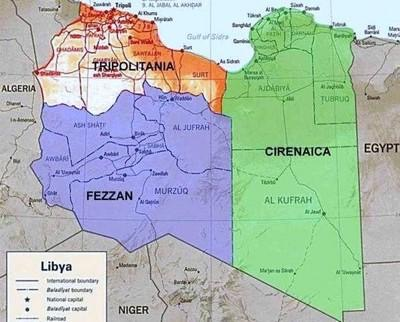 Buitres sobre Libia