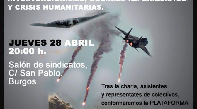 Nace la Plataforma Anti-OTAN de Burgos