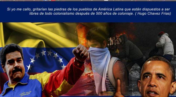 No a la Ley de Amnistía para los golpistas. No a la injerencia en Venezuela