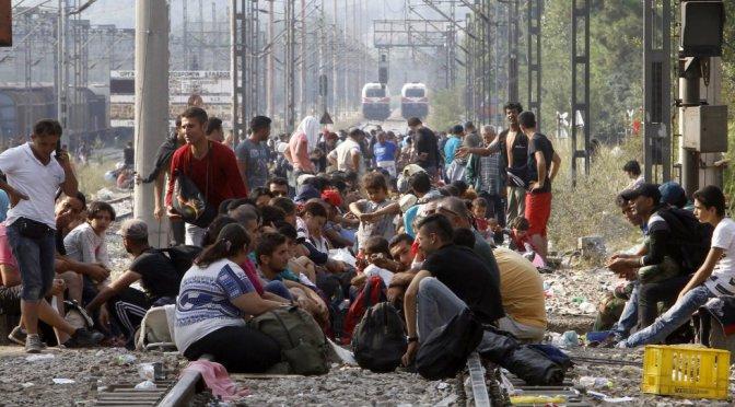 Galicia Refuxiadas llama a tomar la muralla de Lugo