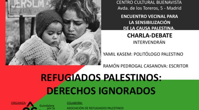 Refugiados palestinos: derechos ignorados