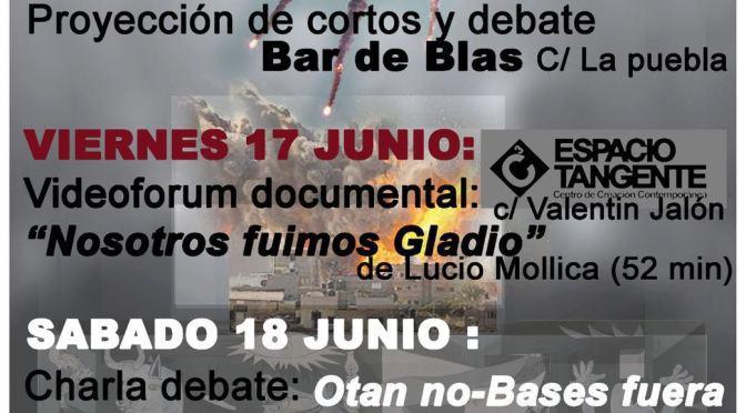 La Plataforma Anti-OTAN de Burgos organiza unas Jornadas de presentación esta semana