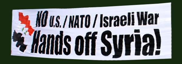 """Campaña """"Sacad las manos de Siria"""""""