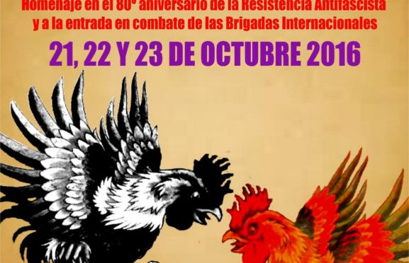 No pasarán. Jornadas antifascistas