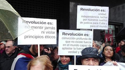 Pequeña crónica del homenaje en Madrid