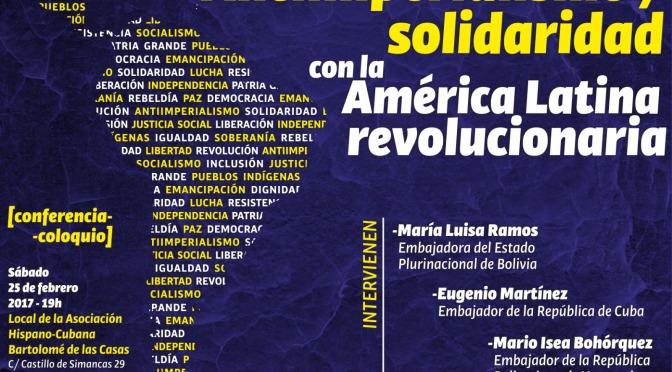 Antiimperialismo y solidaridad con la América Latina Revolucionaria