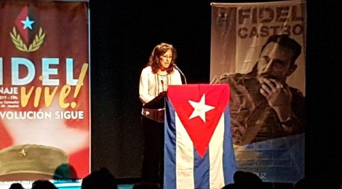 Homenaje a Fidel. Alegato por el antiimperialismo