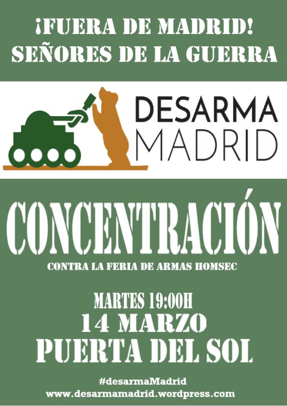¡Fuera de Madrid! Señores de la guerra. Concentración en Madrid