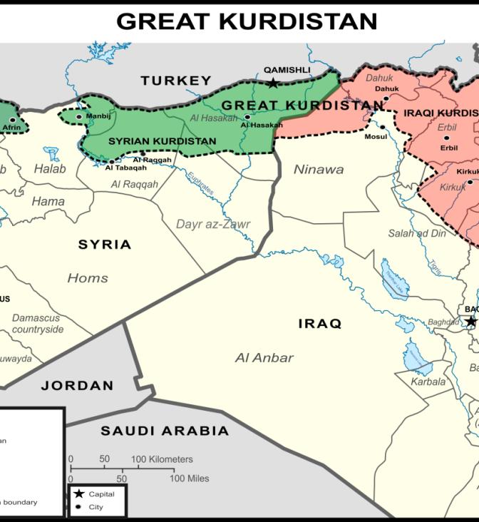 El Gran Kurdistán y la balcanización de Siria (Adolfo Ferrera)
