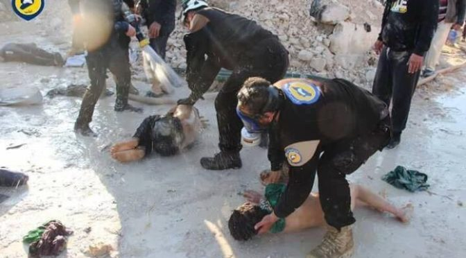Sacando conclusiones; algo no cuadra en el ataque químico de Idlib