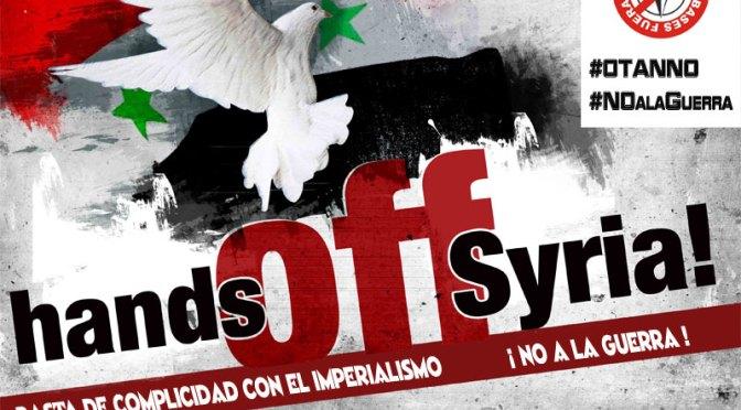 Manifestacion en Valencia: Propuesta de convocatoria urgente por ataque a Siria