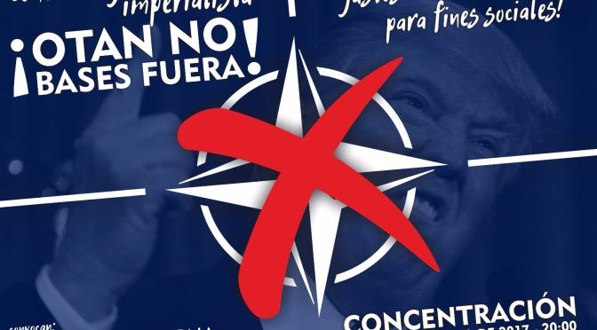 CONVOCATORIA: Contra la guerra imperialista; Gastos militares para fines sociales; ¡OTAN no, bases fuera!