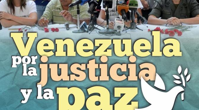 Venezuela por la Justicia y la Paz acto en Madrid