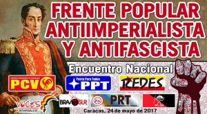 VENEZUELA: Surge el Frente Popular Antiimperialista y Antifascista (FPAA)