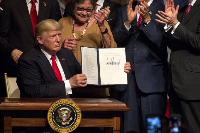 Declaración del Foro Contra la Guerra Imperialista y la OTAN:  Donald Trump se declara contra la Paz y contra la Historia.