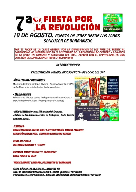 CARTEL FINAL FIESTA REVOLUCION - 1