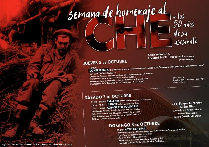 Declaración final del Homenaje al Che