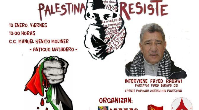 Charla-coloquio: Palestina resiste (Huesca y Binéfar)
