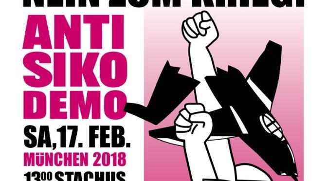 """Convocatoria de protestas contra la Conferencia de """"Seguridad"""" de la OTAN"""