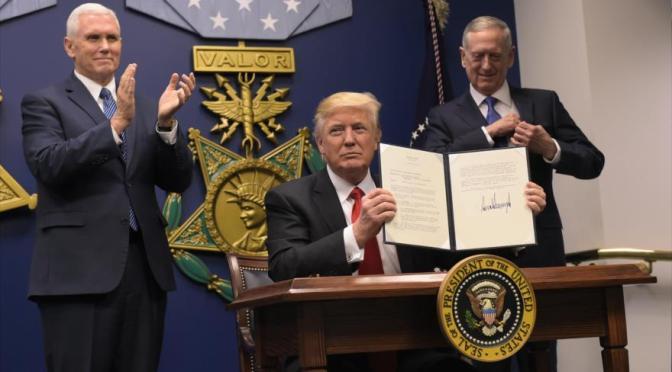 Con Trump o sin Trump, los EEUU con su siniestro plan