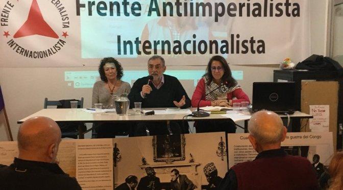 Frente Antiimperialista Internacionalista envía mensaje de solidaridad a Venezuela