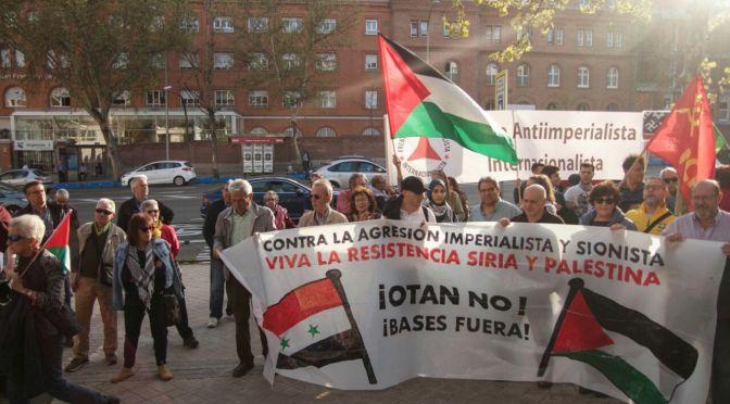 Concentración en Madrid por la defensa del Derecho al Retorno del pueblo Palestino y contra la masacre perpetrada por el Ente Sionista de Israel