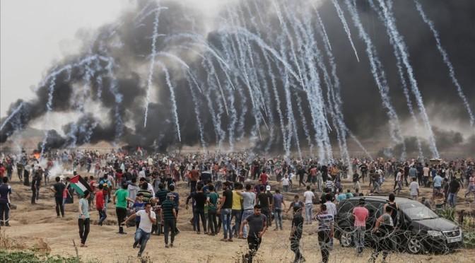 Gran Marcha del Retorno a Palestina. 6º viernes. Viernes de los trabajadores de Palestina.