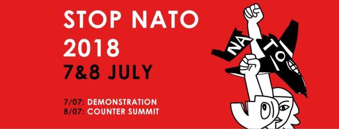 """Contra-cumbre """"No a la guerra – No a la OTAN"""". Bruselas, 7 y 8 de julio"""